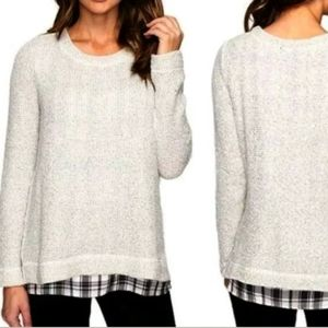 Sanctuary One And Done Layered Look Sweater